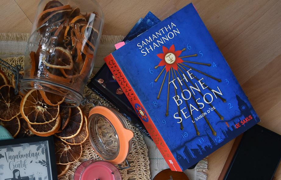 The bone season (T.1) de Samantha Shannon chez De Saxus