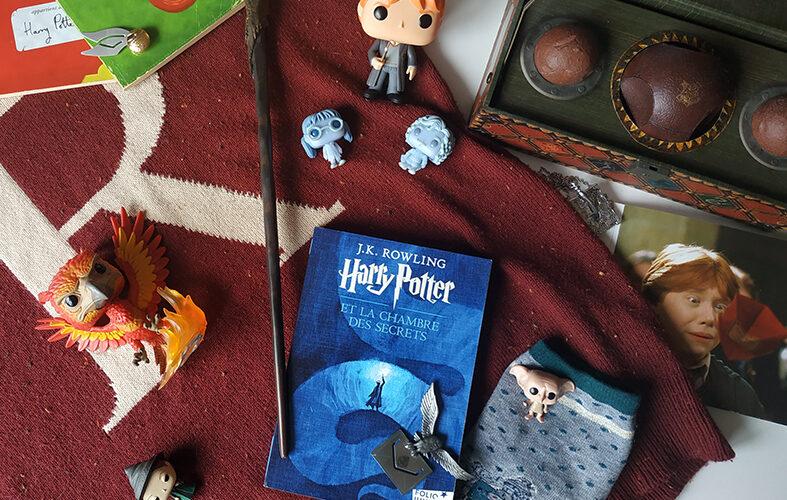 Harry Potter et la chambre des secrets de JK Rowling chez Gallimard